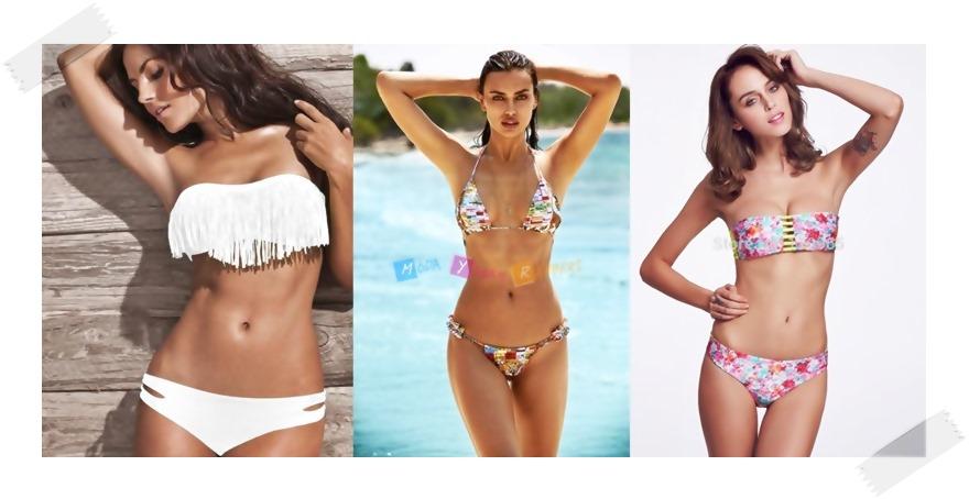 2015 Plaj Modası Püsküllü Bikini Modelleri