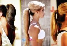 2015 saç trendi - at kuyruğu