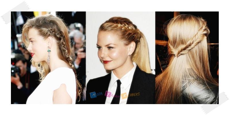 Uzun Saçlı Kadınlar İçin Stil Önerileri - Balık Sırtı