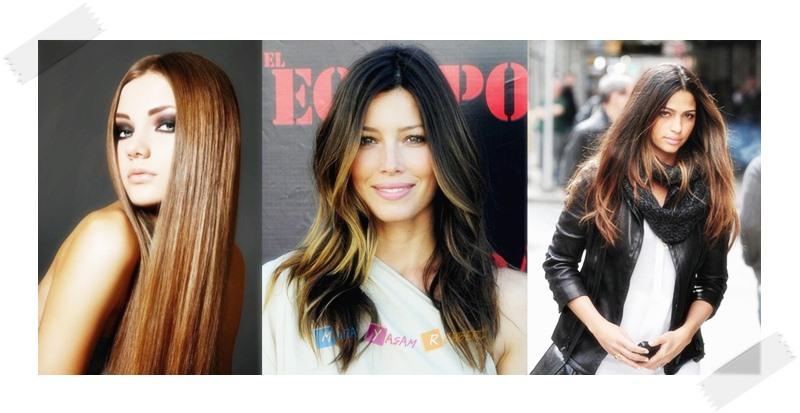 Uzun Saçlı Kadınlar İçin Stil Önerileri - Düz Saç