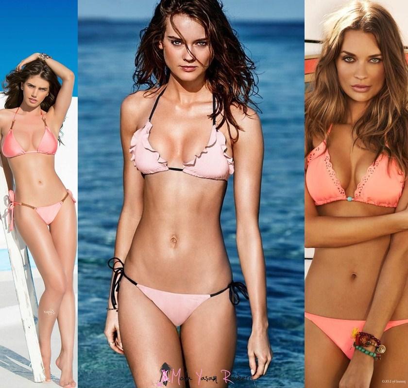 Gül Kurusu Bikini Modelleri